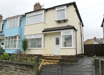 Thumbnail 3 bed semi-detached house for sale in Larkfield Road, Aigburth, Liverpool, Merseyside