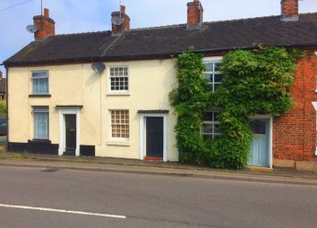 Thumbnail 2 bed terraced house for sale in 14 Stone Road, Eccleshall, Staffordshire