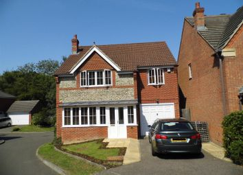 Thumbnail 4 bed detached house for sale in Timberley Gardens, Ridgewood, Uckfield