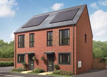 "Thumbnail 2 bedroom semi-detached house for sale in ""The Bailey"" at Showell Road, Wolverhampton"