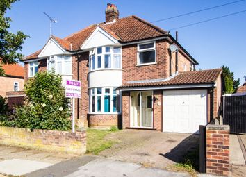 Thumbnail 3 bed semi-detached house for sale in Beechcroft Road, Ipswich