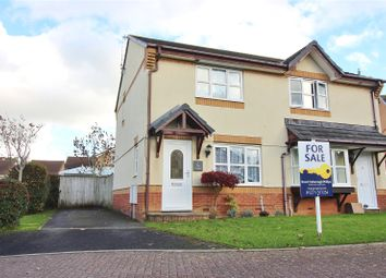 Thumbnail 2 bed semi-detached house for sale in The Copse, Roundswell, Barnstaple