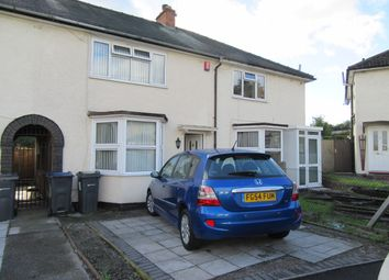 Thumbnail 3 bed terraced house for sale in Torrey Grove, Ward End, Birmingham, West Midlands