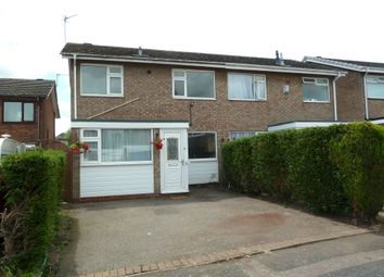 Thumbnail 3 bed semi-detached house to rent in Nuthurst, Sutton Coldfield
