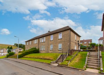 Thumbnail 3 bed flat for sale in Dalgleish Avenue, Clydebank, West Dunbartonshire