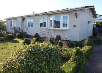 Thumbnail 2 bedroom mobile/park home for sale in Priory Park, Nacton, Ipswich, Suffolk, 0Ju
