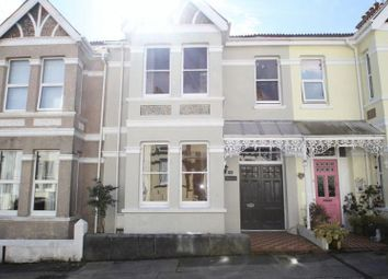 Thumbnail 3 bed terraced house to rent in Onslow Road, Plymouth