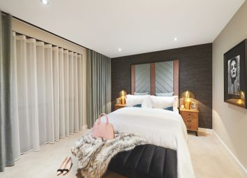 Thumbnail 1 bed flat for sale in Centric Close, Oval Road, London
