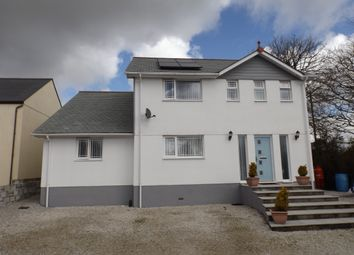 Thumbnail 4 bed detached house for sale in Hallaze Road, Penwithick, St. Austell