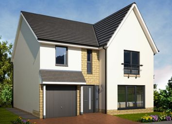 "Thumbnail 4 bed detached house for sale in ""Azure Garden Room II Hamilton Gardens"" at Duffus Heights, Elgin"