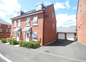 Thumbnail 3 bed semi-detached house for sale in Fleet Road, Lubbesthorpe, Leicester