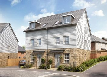 "Thumbnail 3 bedroom semi-detached house for sale in ""Norbury"" at Upper Chapel, Launceston"
