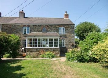 Thumbnail 3 bed end terrace house for sale in Woodland Cottages, Upton Cross, Liskeard, Cornwall