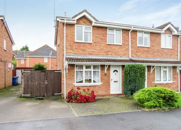 Thumbnail 3 bed semi-detached house for sale in Dallow Crescent, Burton-On-Trent