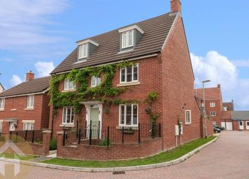 Thumbnail 5 bed detached house for sale in Churn Way, Royal Wootton Bassett, Swindon