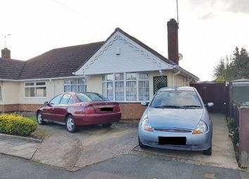 Thumbnail 2 bed semi-detached bungalow for sale in Foxhunter Drive, Oadby, Leicester