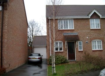 Thumbnail 2 bed semi-detached house to rent in Doulton Gardens, Lower Parkstone, Poole, Dorset