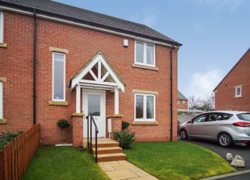 Thumbnail 2 bed semi-detached house for sale in Goodacre Road, Hathern, Loughborough