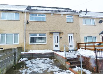 Thumbnail 3 bed terraced house for sale in Firth Road, Ebbw Vale