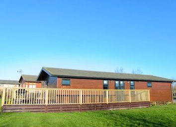 Thumbnail 3 bed lodge for sale in Back Road, Newton On Derwent, York