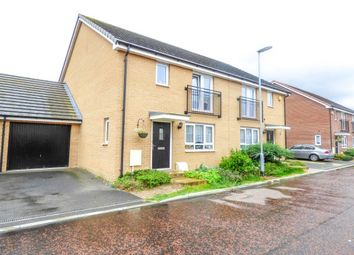 Thumbnail 3 bedroom property to rent in Wilmott Close, Basildon