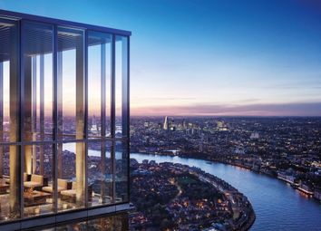 Thumbnail 1 bed flat for sale in Landmark Pinnacle, Canary Wharf