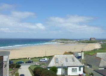 Thumbnail 2 bed flat for sale in Pentire Avenue, Newquay, Cornwall