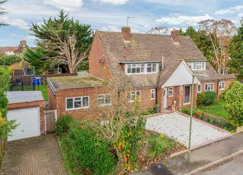 3 bed semi-detached house for sale in Thrupps Lane, Hersham Village, Surrey KT12