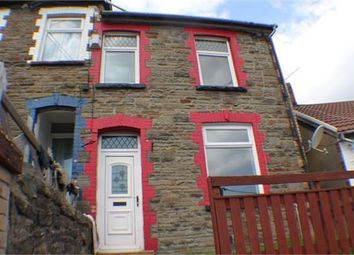 Thumbnail 2 bed terraced house to rent in Thomas Street, Clydach, Rct.