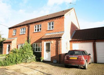 Thumbnail 3 bedroom semi-detached house to rent in Olivia Close, Fakenham