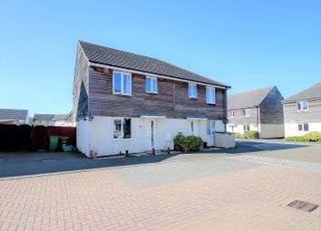Thumbnail 3 bed semi-detached house for sale in Samuel Bassett Avenue, Plymouth