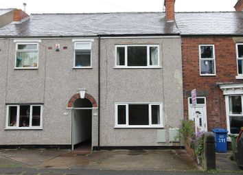 Thumbnail 3 bed terraced house for sale in Old Hall Road, Brampton, Chesterfield