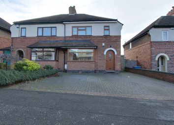 Thumbnail 3 bed semi-detached house for sale in Jonkel Avenue, Hockley, Tamworth