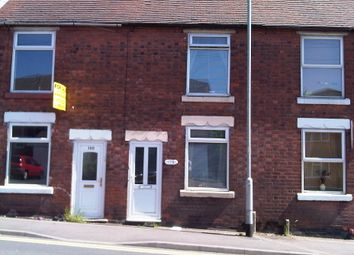 Thumbnail 2 bed terraced house to rent in Cannock Road, Cannock