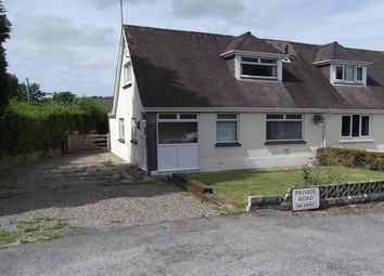 Thumbnail 3 bed semi-detached bungalow to rent in Pentrecagal, Newcastle Emlyn, Carmarthenshire, West Wales
