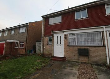 Thumbnail End terrace house to rent in Highclere Road, Aldershot