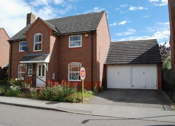 Thumbnail 4 bed detached house for sale in Wilson Close, Daventry, Northampton