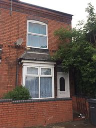Thumbnail 3 bedroom end terrace house to rent in Coronation Road, Birmingham