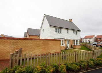 Thumbnail 3 bedroom detached house to rent in Goshawk Rise, Wymondham
