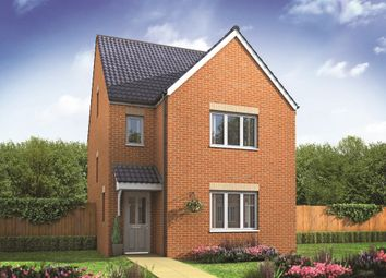 "Thumbnail 4 bedroom detached house for sale in ""The Lumley"" at Bridge Road, Old St. Mellons, Cardiff"