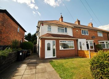 Thumbnail 3 bed end terrace house for sale in Sandmere Road, Yardley Wood, Birmingham