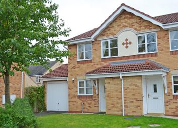 Thumbnail 2 bed semi-detached house to rent in Rainsborough Way, York