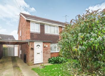 Thumbnail 3 bed semi-detached house for sale in Westfield Road, Sawtry, Huntingdon