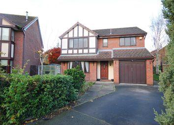 Thumbnail 4 bedroom detached house for sale in Newbridge Close, Callands, Warrington