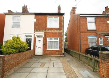 Thumbnail 3 bedroom semi-detached house for sale in Newton Road, Ipswich, Suffolk