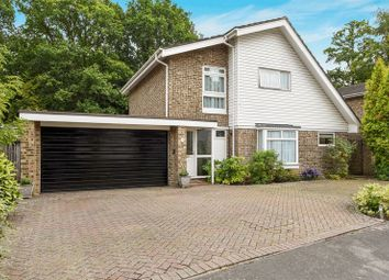 Thumbnail 4 bed detached house for sale in Cherrydale Road, Camberley