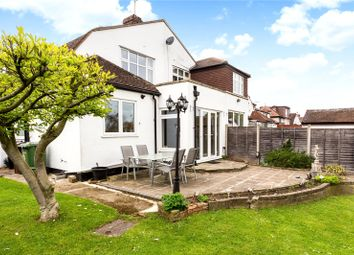 Thumbnail 3 bed semi-detached house for sale in Park Avenue West, Stoneleigh, Epsom, Surrey
