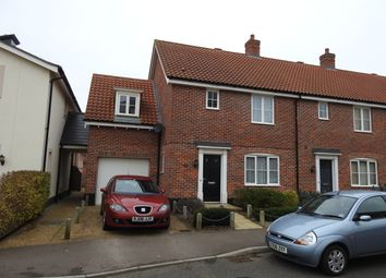 Thumbnail 3 bed end terrace house to rent in Warren Avenue, Saxmundham