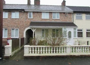 Thumbnail 4 bed terraced house to rent in 17 Lathum Close, Prescot