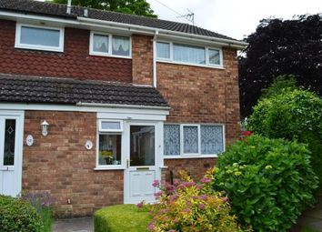 Thumbnail 3 bed end terrace house for sale in Boley Close, Lichfield, Staffordshire